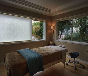 yoga and massage room